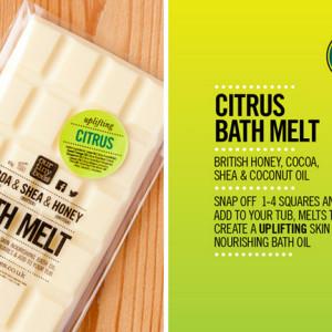citrus bath melt