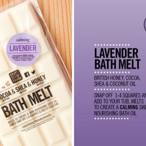 lavender bath melt