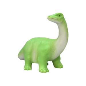 small green diplodocus night light for children