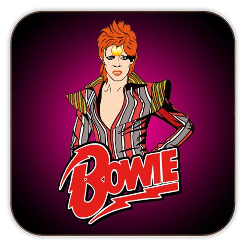 David Bowie coaster gift