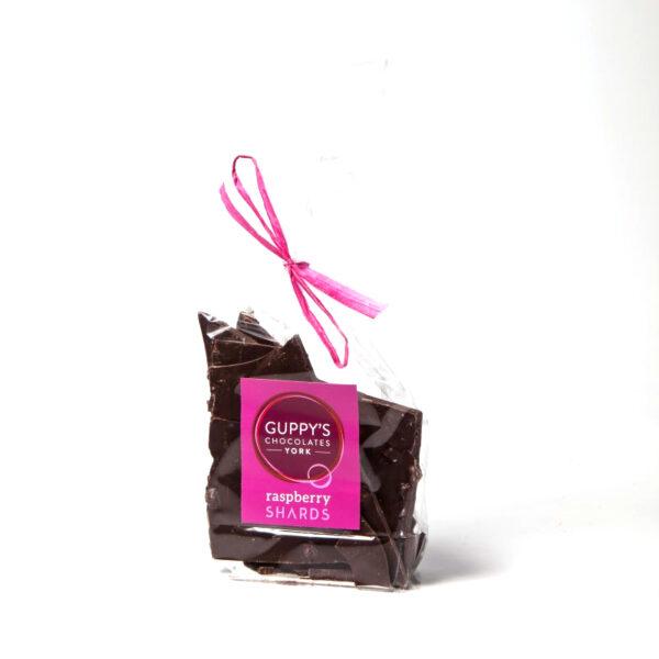 yorkshire handmade dark vegan raspberry chocolate