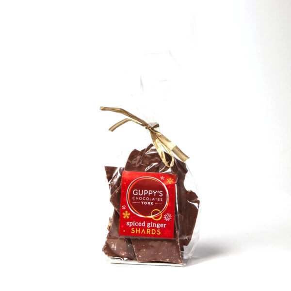 spiced ginger christmas chocolate made in yorkshire