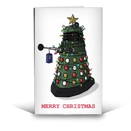 dr who dalek christmas card